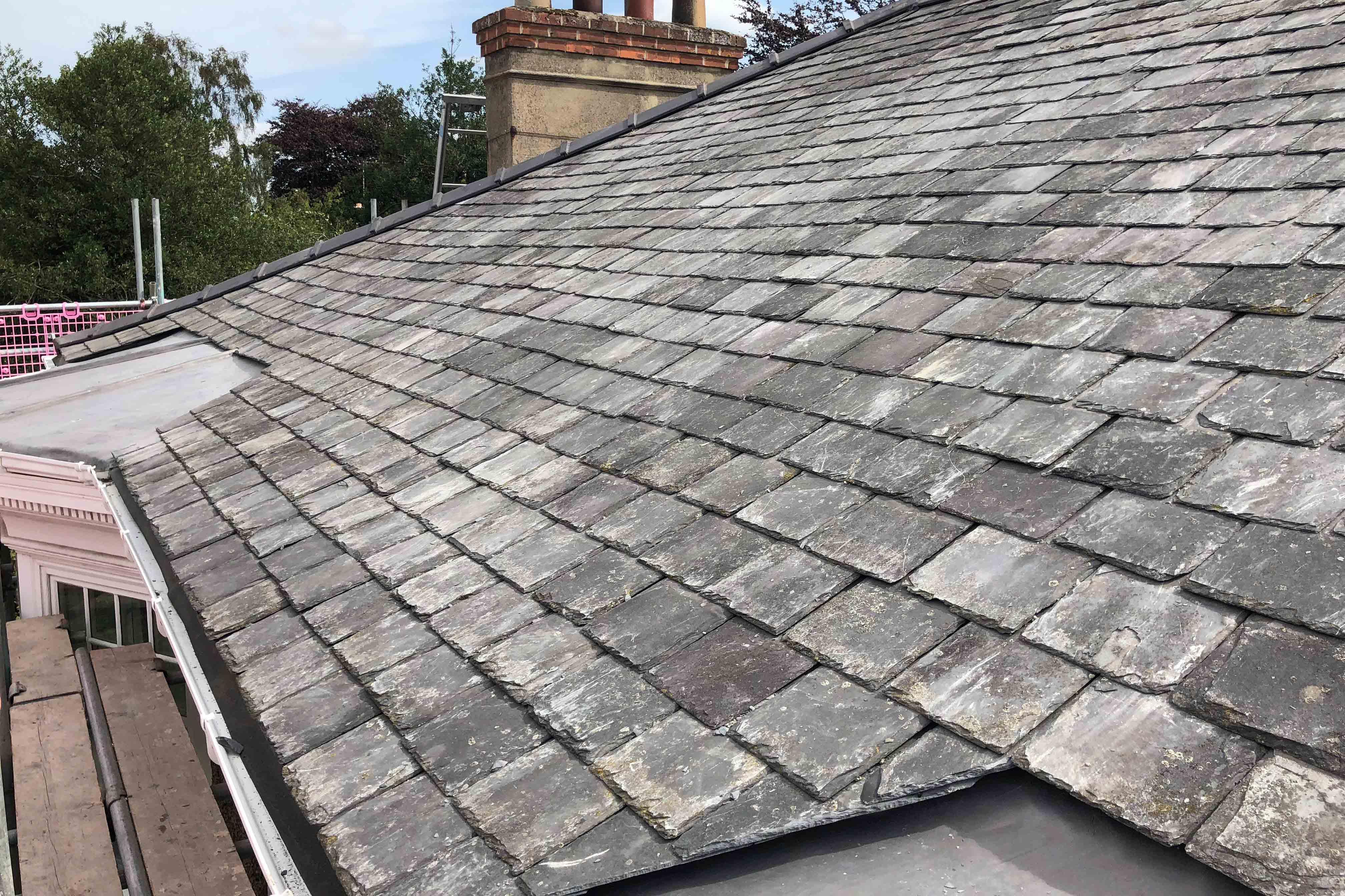 Slate Re-Roof