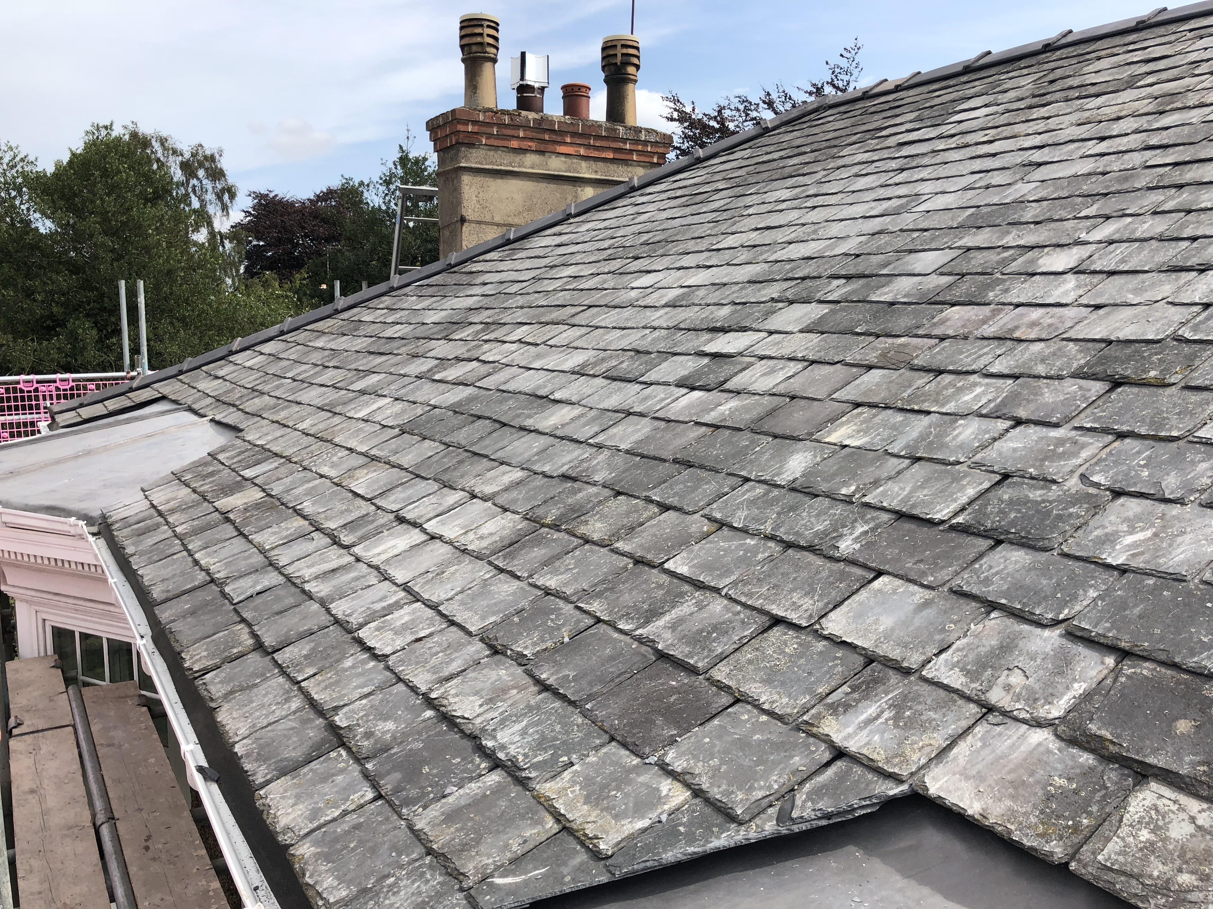 Slate Re-Roof in Cherry Burton